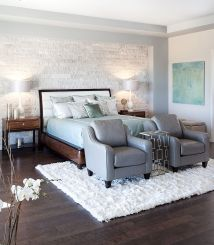 Bedrooms Celebrate Textural Brilliance Of