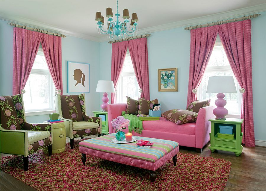 light pink living room ideas wood floors in 20 classy and cheerful rooms traditional benefits from an infusion of green tobi fairley