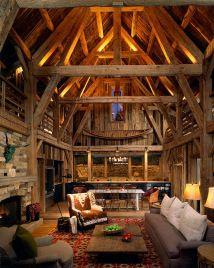 Rustic Barn Home Interiors