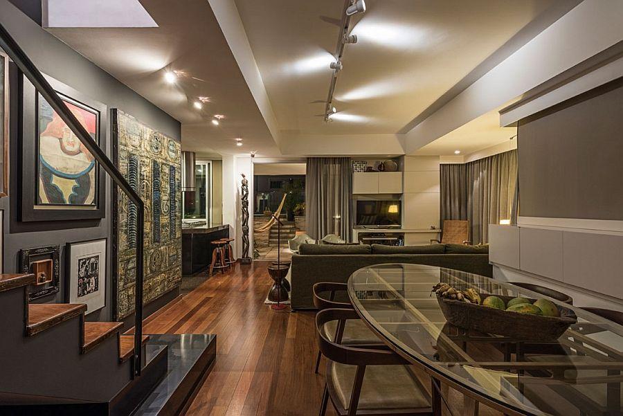 50s Décor Meets Modern Flair Inside Rejuvenated Brazilian ...
