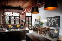 Dashing Urban Loft Uses Contrasting Textures to Create ...