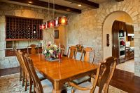 15 Gorgeous Dining Rooms with Stone Walls
