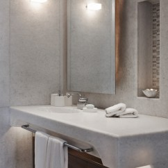 Chair Under Cover Into Bedside Table The Luxury Look Of High-end Bathroom Vanities