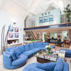 Living Room Design Ideas Open Floor Plan Blue Rug How To Choose And Use Colors In An Fun Of Color The Contemporary Domus Nova