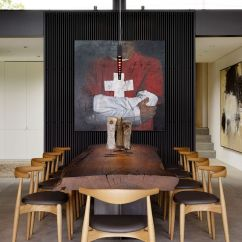 Large Artwork For Living Room Award Winning Designs Courtyard Residence: Raw Industrial Elements Tamed By ...