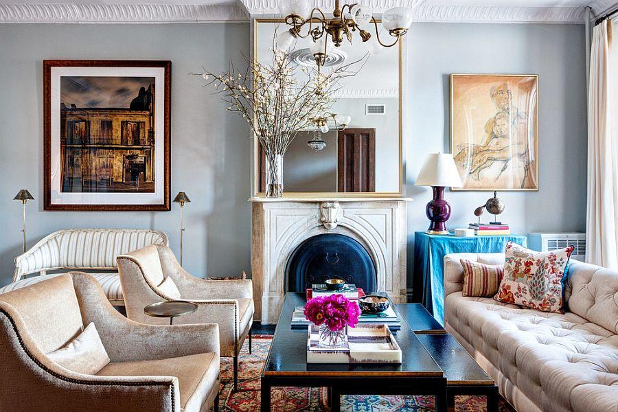 vivacious victorian living rooms