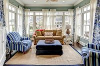 25 Cheerful and Relaxing Beach-Style Sunrooms