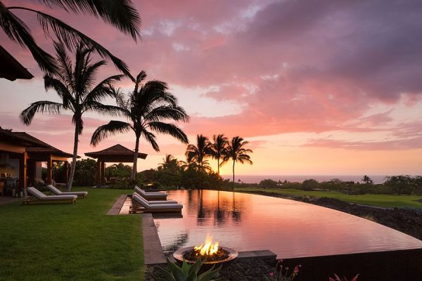 spectacular tropical pool landscaping