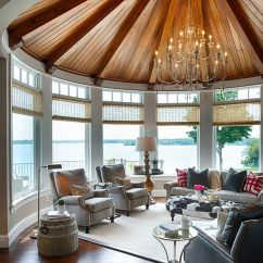 Beach House Living Room Designs White Sectional Set 25 Cheerful And Relaxing Beach-style Sunrooms
