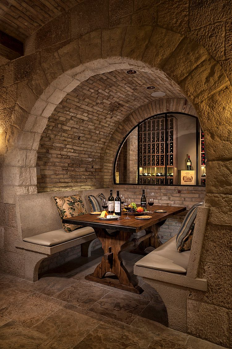 Connoisseurs Delight 20 Tasting Room Ideas to Complete the Dream Wine Cellar