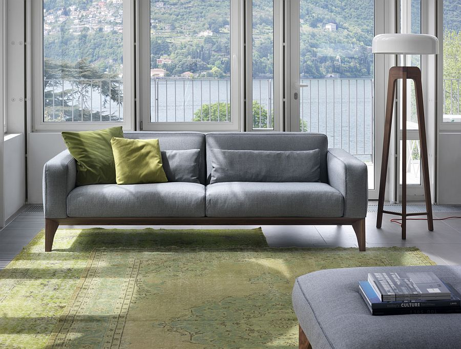 contemporary sofa designs for living room connectors refresh your trio of comfy modern sofas from porada view in gallery simple and understated design the fellow couch