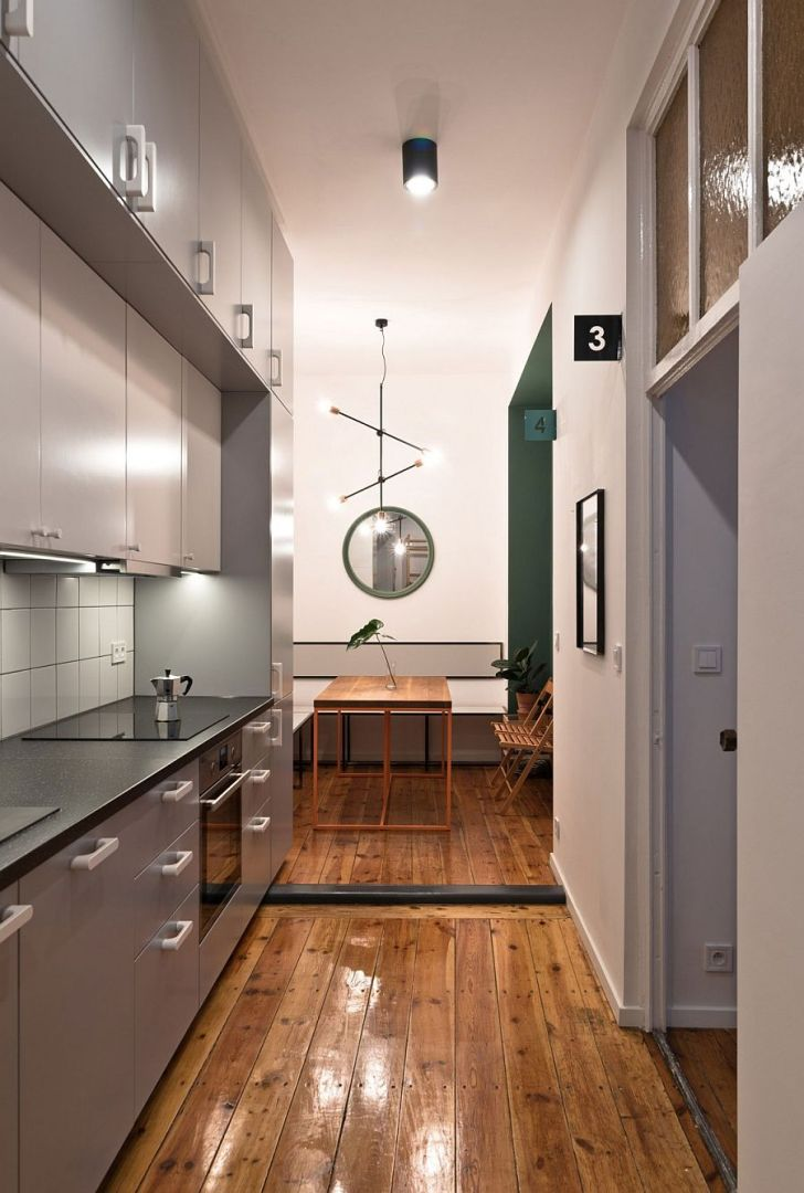 Kitchen Cabinets: Small Urban Kitchen Design. Tiny Student Apartment In Poznan Works Magic With Limited Space Widescreen Small Urban Kitchen Design For Designs Desktop Hd Pics And Dining Idea The