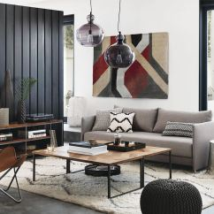 Wall Panels For Living Room Layout With Sectional 20 Rooms Modern Wood Paneling View In Gallery Black Vertical A Designed By Cb2