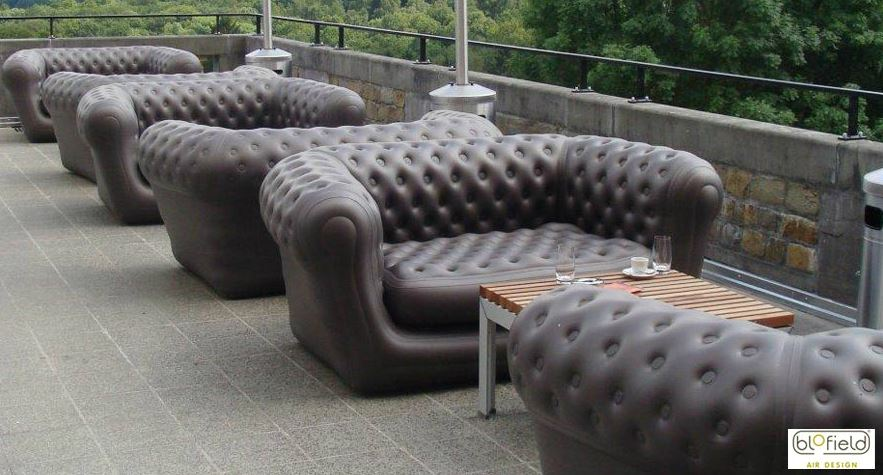 inflatable chairs for adults oversized folding quad chair loveseat or a chesterfield style sofa sofas