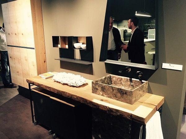 Live Edge Bathroom Vanity Designed Dario Poles - Decoist