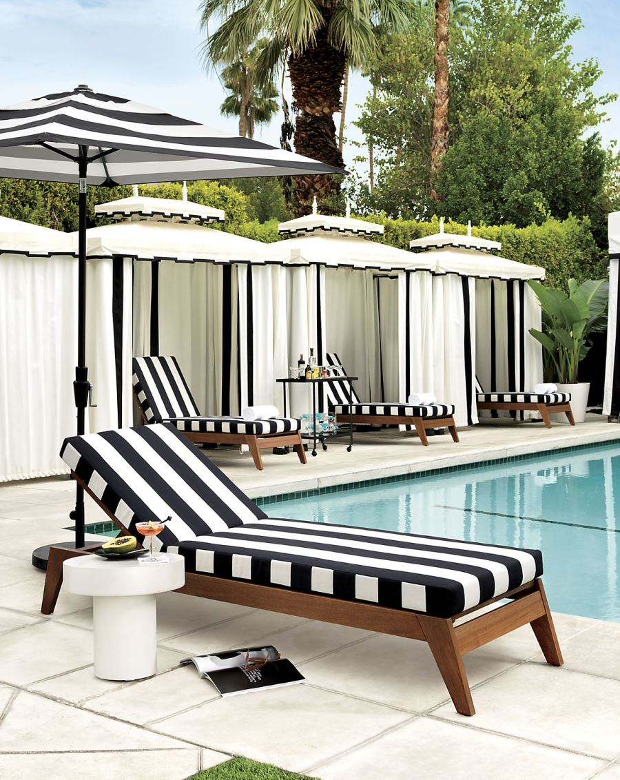 sunbrella sofa cushions sectional sofas in san antonio texas patio furniture and decor trend: bold black white