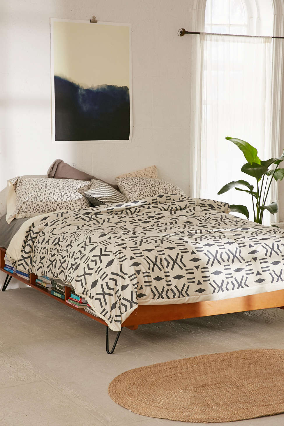 Spring Bedding Ideas Abstract And Geometric Motifs