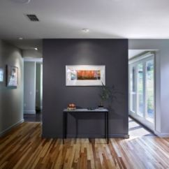 Living Rooms With Dark Grey Feature Walls Funky Room Curtains Helpful Tips For Creating An Accent Wall View In Gallery A