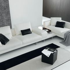 Modular Living Room Furniture Tiffany Blue Ideas Chic And Sectional Sofas Up Your S Style Quotient Exquisite Sofa In Pristine White For The Contemporary