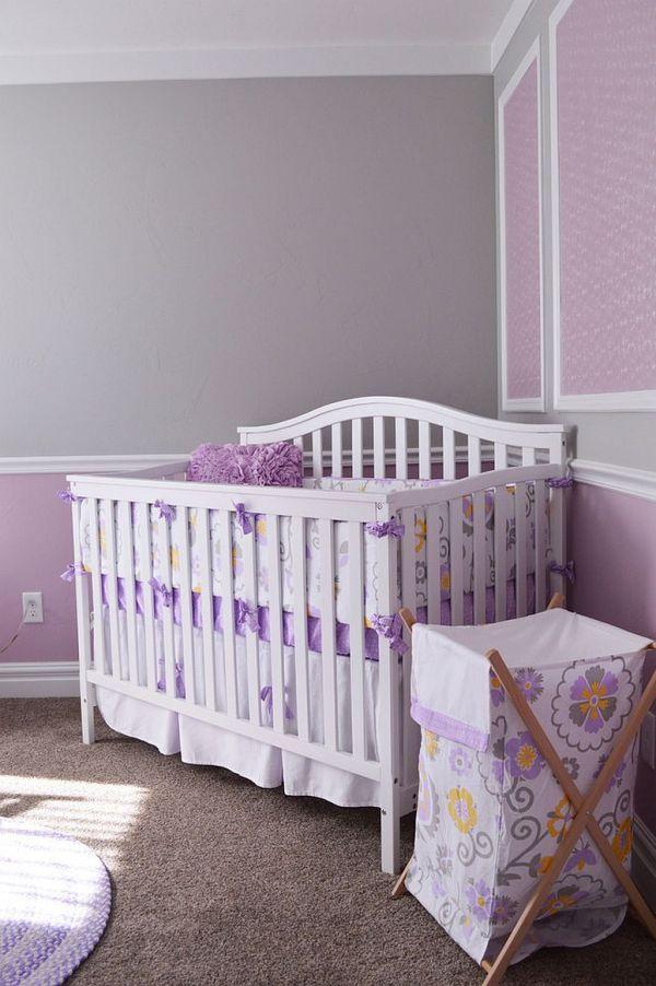 gorgeous nurseries with purple