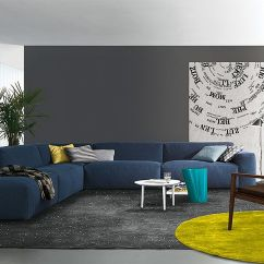 Large Plush Sectional Sofa Best Way To Wash Pillows Chic Modular And Sofas: Up Your Living Room's ...