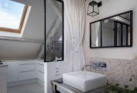 Rustic Modern Attic Apartment Renovation Oozes Parisian ...
