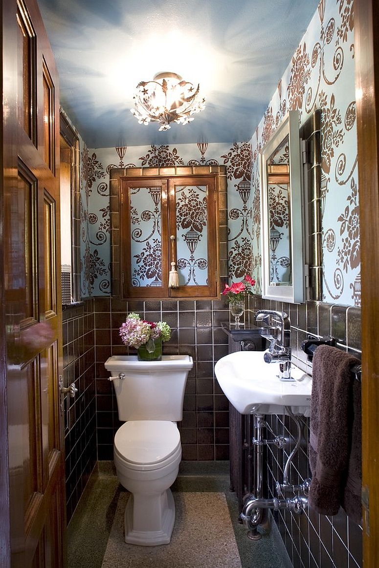 A Timeless Affair 15 Exquisite Victorian Style Powder Rooms