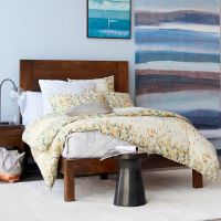 Spring Bedding Ideas: Abstract and Geometric Motifs