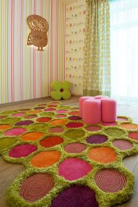 Colorful Zest: 25 Eye-Catching Rug Ideas for Kids Rooms