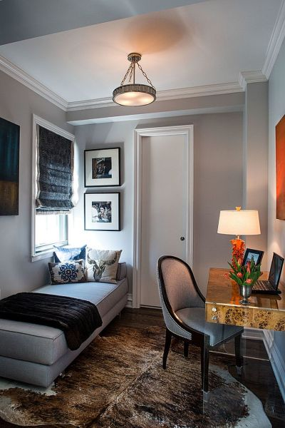 home office guest bedroom design ideas 23 Space-Savvy Home Offices that Utilize their Corner Space