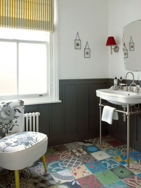Powder Room Bathroom Tile Ideas