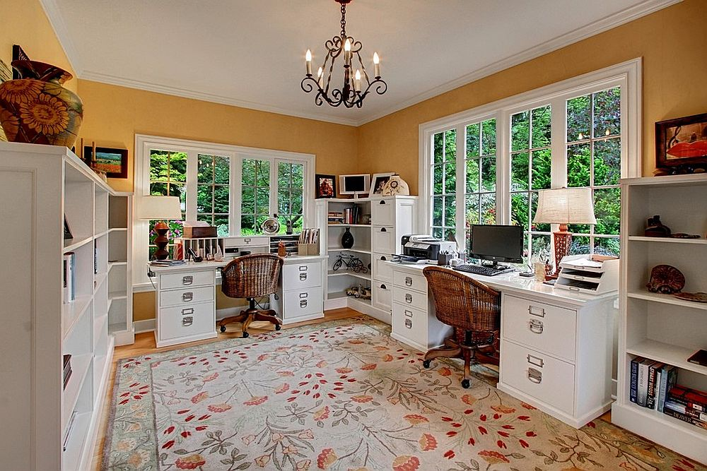 23 Space Savvy Home Offices That Utilize Their Corner Space