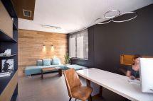 Small Office Reception Interior Design