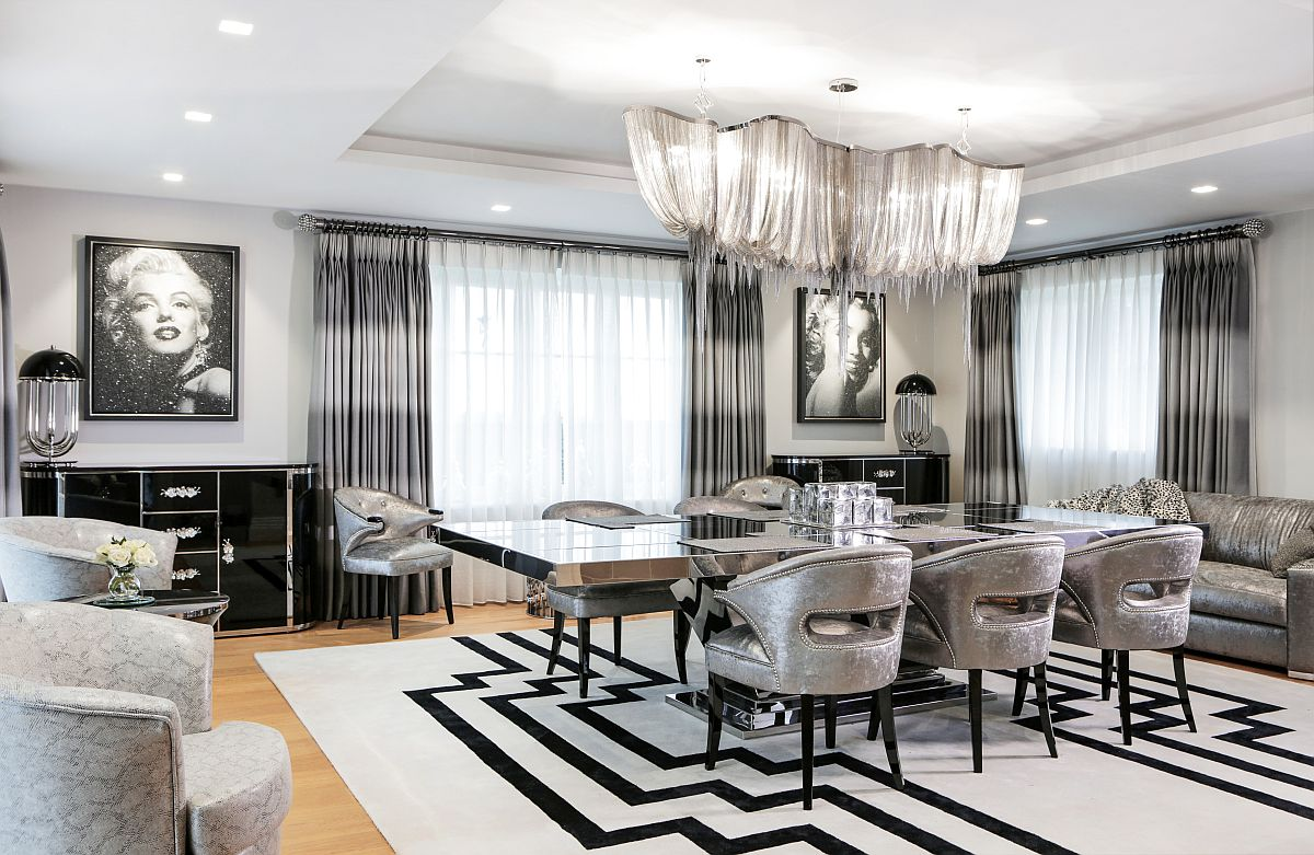 art deco living room pictures best interior design for 2017 harbury country house unleashes laced with hollywood view in gallery two diamond dust paintings of marilyn monroe bring true glam to the dining