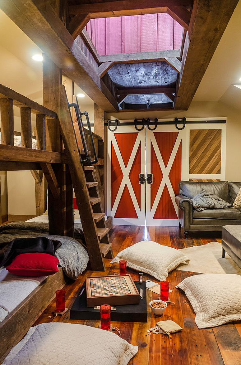 27 Creative Kids Rooms with SpaceSavvy Sliding Barn Doors