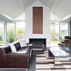 Living Room Without Coffee Table Ideas Pictures With Dark Hardwood Floors 30 Mirrored Tables That Add A Sparkle To Your Home Airy Filled Midcentury Goodness From Klopf Architecture