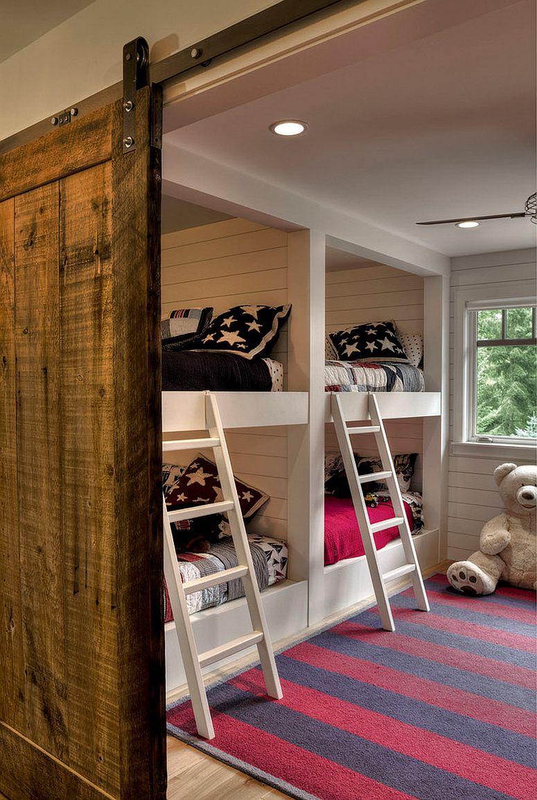 27 Creative Kids Rooms with SpaceSavvy Sliding Barn Doors
