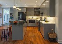 Chic Design Ideas for a Grey Kitchen