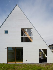Homes with Steep Pitched Roofs