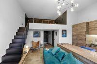 Mezzanine-Level Bedroom Adds Extra Space to Small Kiev ...