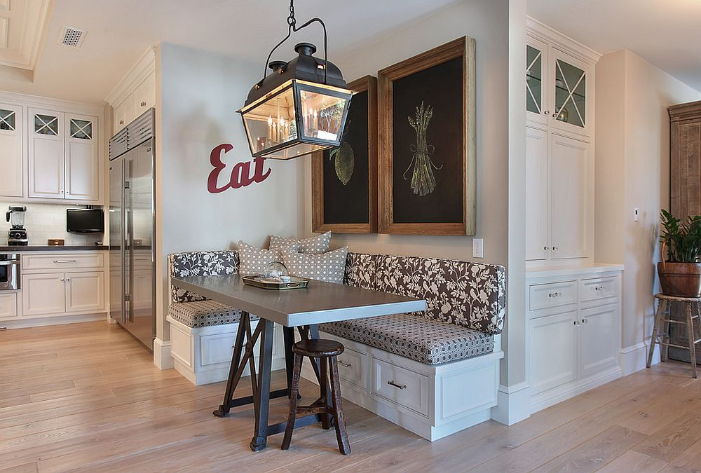 custom kitchen booth light fixtures 25 space savvy banquettes with built in storage underneath make use of that awkward corner the a banquette design brandon