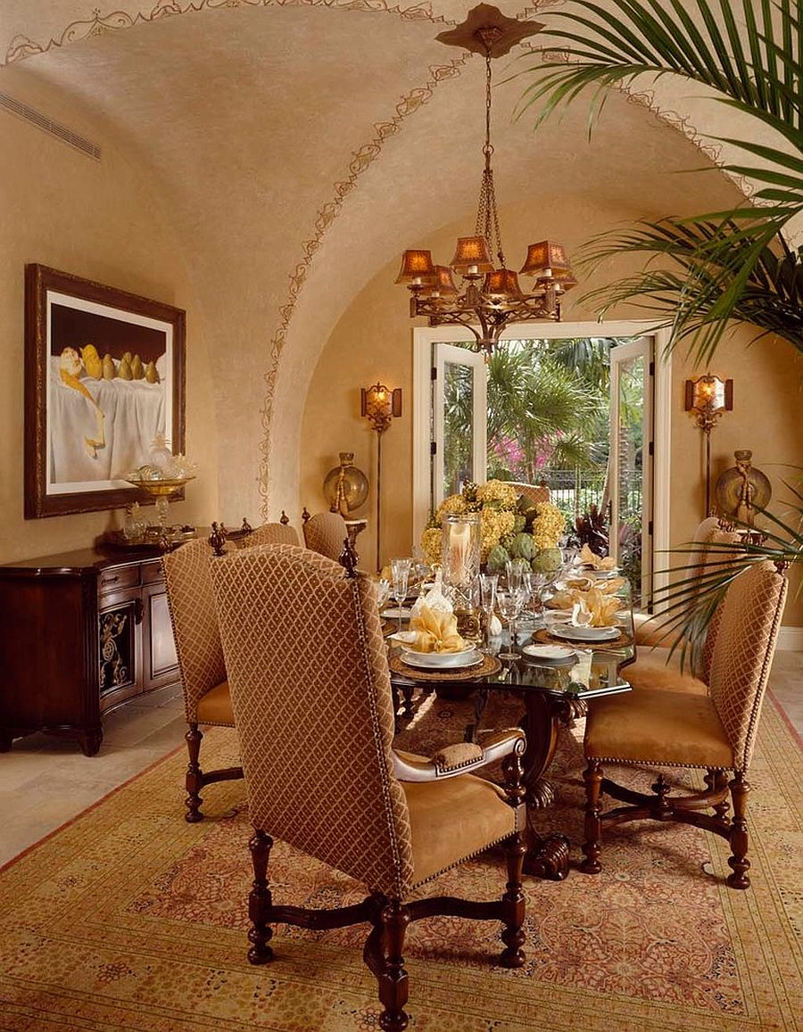 moroccan living room design buy set exotic and exquisite 16 ways to give the dining a twist view in gallery opulent mediterranean with textured walls from rosana fleming george cott
