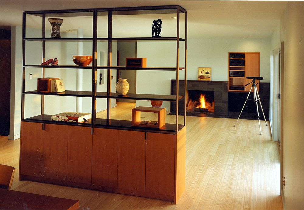 kitchen divider mid century modern cabinets 25 nifty space saving room dividers for the living cupboard and bookshelf unit offers storage display even while doubling as a