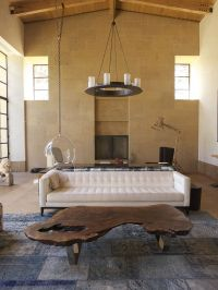 30 Live-Edge Coffee Tables That Transform the Living Room