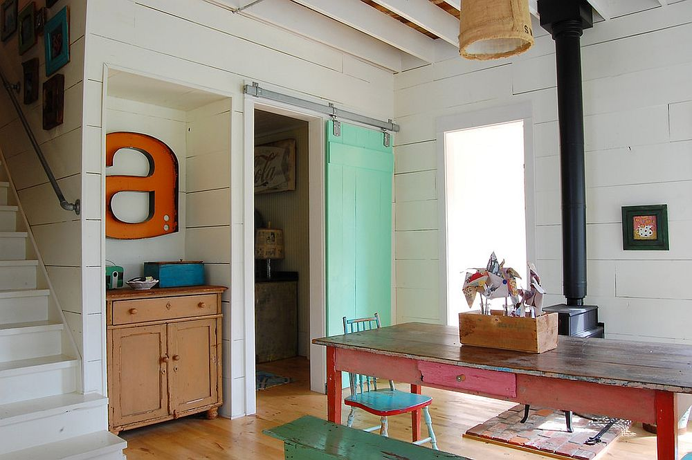 kitchen designs for small spaces decor themes 25 diverse dining rooms with sliding barn doors