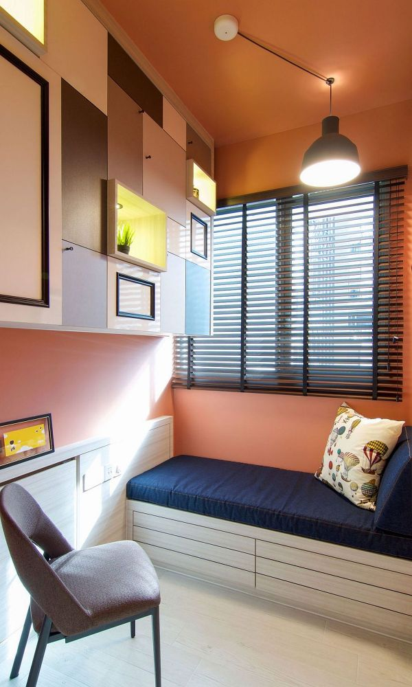 Rejuvenated Singapore Home Inspired Piet Mondrian And