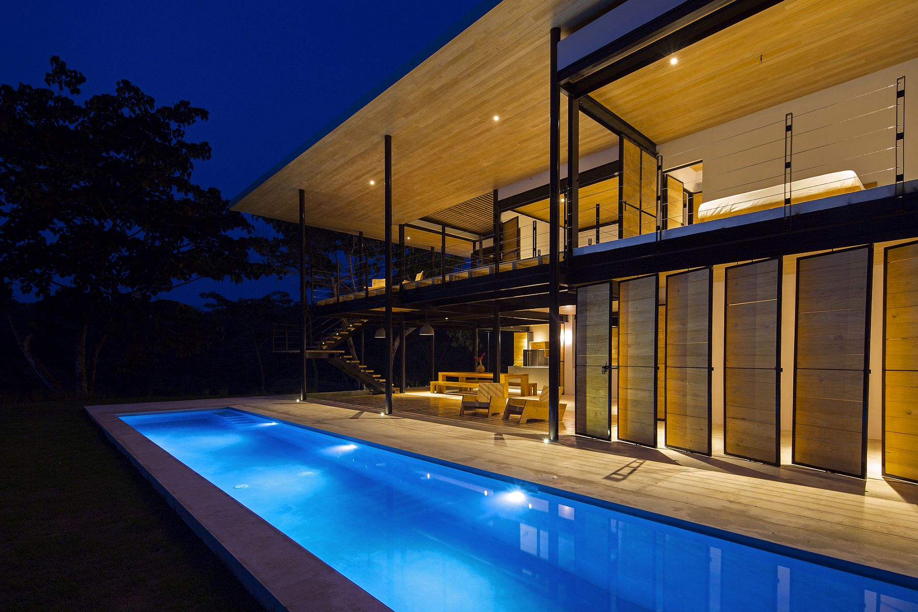 Spectacular Modern Home In Costa Rica With Ocean And