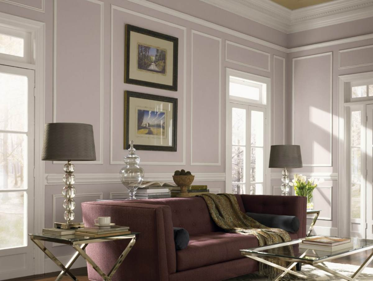 eggplant color sofa usa made furniture how to decorate with the taupe
