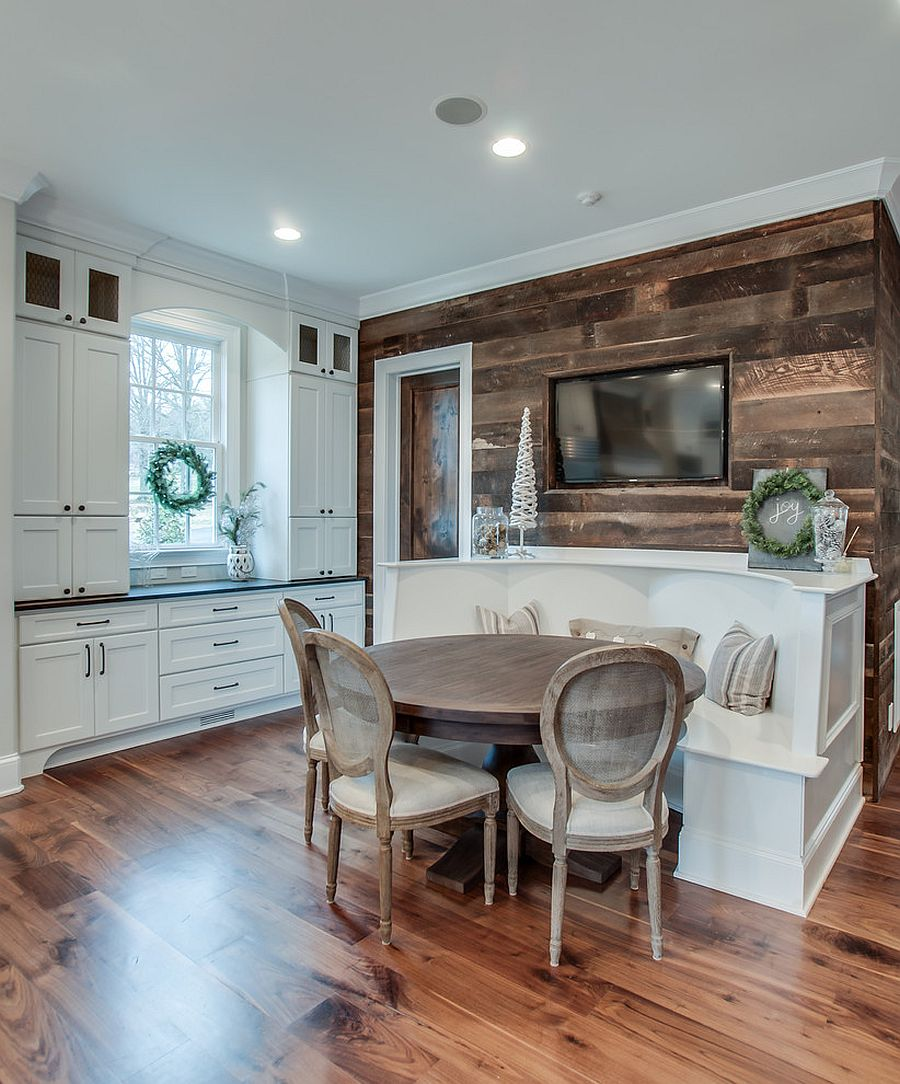 Best Kitchen Gallery: Gorgeous Ways To Add Reclaimed Wood To Your Kitchen of Weathered Wood Kitchen on rachelxblog.com