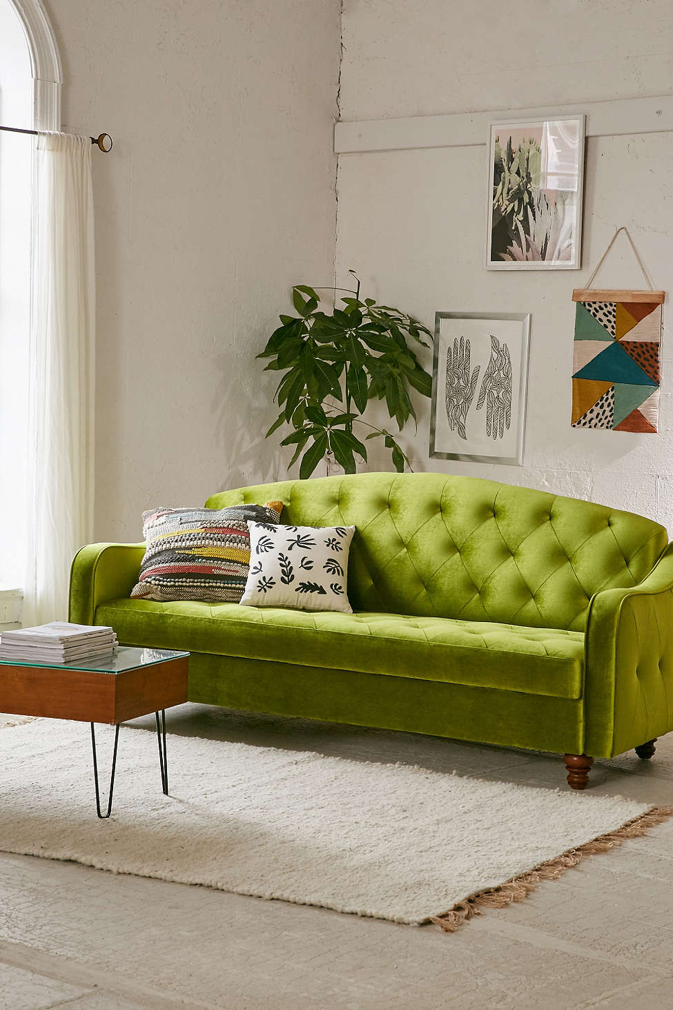 moss studio sofa reviews red cushions vs couch the great seating debate adeline storage sleeper from urban outfitters